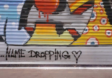AMIT'S NAMEDROPPING PROJECT CONTINUES WITH GRAFFITI ARTIST MALOER